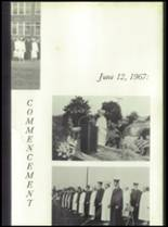 1967 Washington High School Yearbook Page 136 & 137