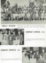 1965 Monroe High School Yearbook Page 56 & 57