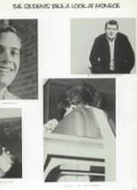 1965 Monroe High School Yearbook Page 80 & 81