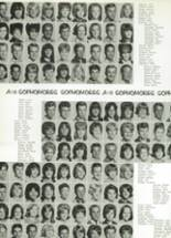 1965 Monroe High School Yearbook Page 110 & 111