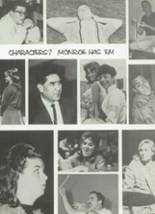 1965 Monroe High School Yearbook Page 116 & 117