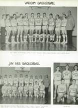 1965 Monroe High School Yearbook Page 136 & 137