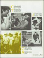 1985 Kickapoo High School Yearbook Page 16 & 17