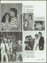 1985 Kickapoo High School Yearbook Page 26 & 27