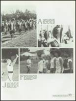 1985 Kickapoo High School Yearbook Page 36 & 37