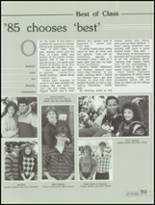 1985 Kickapoo High School Yearbook Page 62 & 63