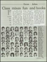 1985 Kickapoo High School Yearbook Page 82 & 83