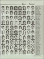1985 Kickapoo High School Yearbook Page 84 & 85