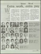 1985 Kickapoo High School Yearbook Page 92 & 93