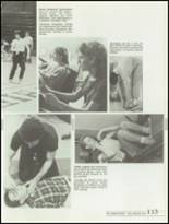 1985 Kickapoo High School Yearbook Page 116 & 117