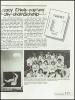1985 Kickapoo High School Yearbook Page 126 & 127