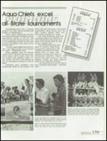 1985 Kickapoo High School Yearbook Page 142 & 143