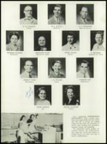1953 Coral Gables High School Yearbook Page 20 & 21