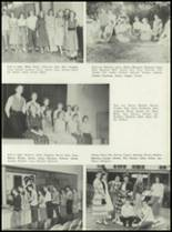 1953 Coral Gables High School Yearbook Page 34 & 35