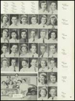 1953 Coral Gables High School Yearbook Page 54 & 55