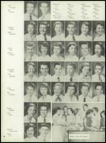 1953 Coral Gables High School Yearbook Page 56 & 57