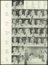 1953 Coral Gables High School Yearbook Page 62 & 63