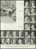 1953 Coral Gables High School Yearbook Page 72 & 73