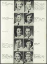 1953 Coral Gables High School Yearbook Page 98 & 99
