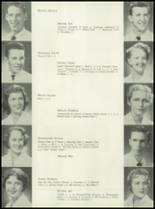 1953 Coral Gables High School Yearbook Page 100 & 101