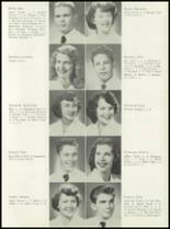 1953 Coral Gables High School Yearbook Page 106 & 107