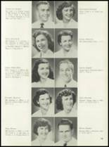 1953 Coral Gables High School Yearbook Page 110 & 111