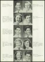 1953 Coral Gables High School Yearbook Page 122 & 123