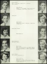 1953 Coral Gables High School Yearbook Page 132 & 133