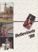 1988 Yearbook Belleville Township West High School