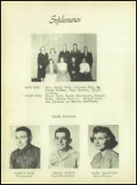 1957 Reynolds High School Yearbook Page 22 & 23