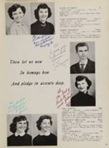 1954 St. George High School Yearbook Page 22 & 23
