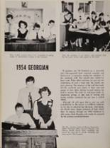 1954 St. George High School Yearbook Page 52 & 53