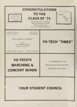 1974 Sussex County Vo-Tech High School Yearbook Page 180 & 181