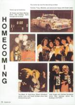 1987 Clyde High School Yearbook Page 16 & 17