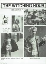 1987 Clyde High School Yearbook Page 24 & 25