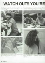 1987 Clyde High School Yearbook Page 26 & 27