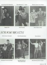 1987 Clyde High School Yearbook Page 32 & 33