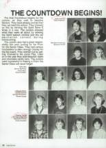 1987 Clyde High School Yearbook Page 48 & 49