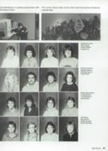 1987 Clyde High School Yearbook Page 50 & 51