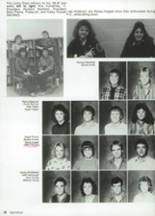 1987 Clyde High School Yearbook Page 52 & 53