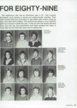 1987 Clyde High School Yearbook Page 54 & 55