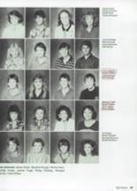 1987 Clyde High School Yearbook Page 56 & 57