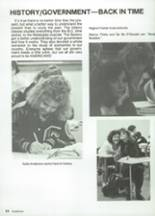1987 Clyde High School Yearbook Page 66 & 67