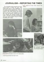 1987 Clyde High School Yearbook Page 70 & 71