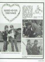 1987 Clyde High School Yearbook Page 74 & 75