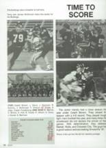 1987 Clyde High School Yearbook Page 82 & 83