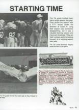 1987 Clyde High School Yearbook Page 84 & 85
