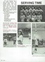 1987 Clyde High School Yearbook Page 86 & 87