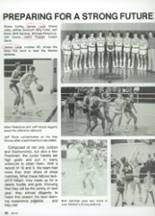 1987 Clyde High School Yearbook Page 92 & 93