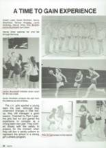 1987 Clyde High School Yearbook Page 98 & 99